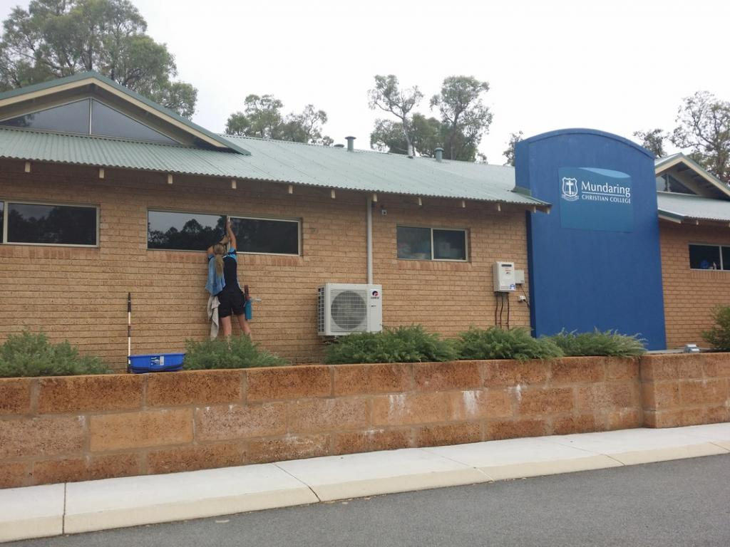 Mundaring Christian College. Contracted to us by AMC Commercial Cleaning